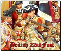 British 22nd Regiment of Foot