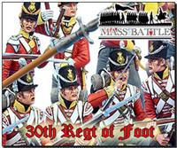Mass Battle British 30th Foot