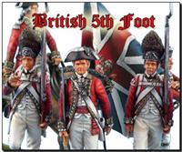 British 5th Regt. of Foot