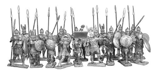 First Legion Historical Miniatures - 40mm Macedonians