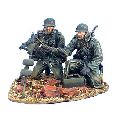 GERSTAL023 German MG34 Tripod Team