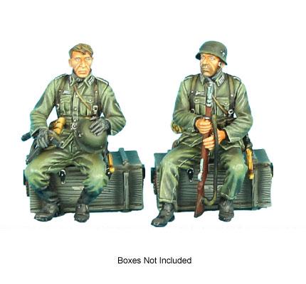 GERSTAL033 Seated German Infantry Set 1