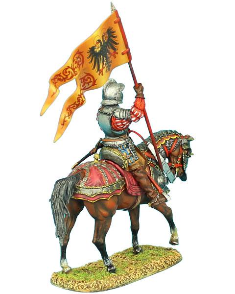 Ren017 German Landsknecht Holy Roman Empire Standard Bearer