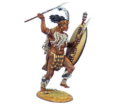 Warrior Zulu With Shie...