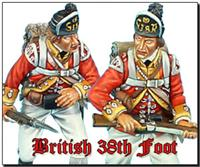 British 38th Regiment of Foot
