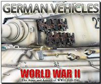 WWII German AFVs and Vehicles