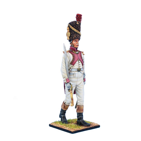 Napoleonic Wars — 3rd Croatian infantry Rgt — 60mm High quality Metal Figure