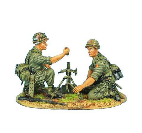 VN019 US 25th Infantry Division M2 Mortar Team